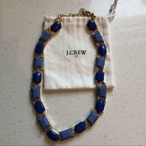 Perfect J.Crew blue bubble statement necklace